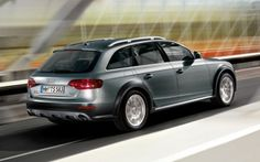 Audi A4 Allroad Estate Car: Electric heated door mirrors