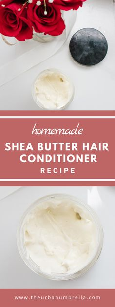 This DIY Shea Butter Hair Conditioner Recipe is super easy to make and is perfect for dry or damaged hair. Try it today to get super gorgeous, shiny, lusturous locks. Dry Hair Mask, Hair Mask For Damaged Hair, Best Hair Mask, Hair Masks, Oily Hair, Frizzy Hair, Beauty Blender, Diy Hair At Home, Diy Peeling