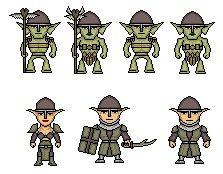 Goblins and dark elves micro