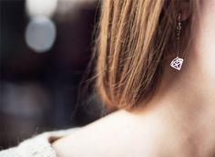 Cheveux - My Little Beauty Diamond Earrings, Stud Earrings, Little Corner, Hair Makeup, Photos, Make Up, Jewels, My Style, Hair Styles