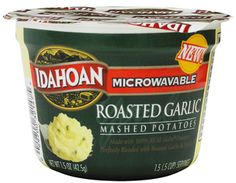 Made with 100% REAL Idaho® Potatoes Perfectly Blended with Roasted Garlic and Parsley.
