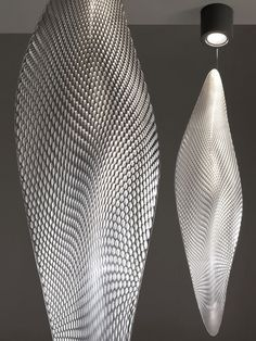Cosmic Leaf :: Ross Lovegrove for Artemide Modern Lighting, Lighting Design, Lampe Applique, Light In, Lamp Light, Parametric Design, Lighting Manufacturers, Luminaire Design, Pendant Lighting