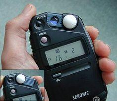 Understanding how to use a handheld light meter