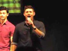 ▶ Jensen Ackles Cantando ''Carry on My Wayward Son'' - YouTube
