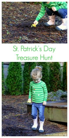 St. Patrick's Day Treasure Dig  from Fun at Home with Kids