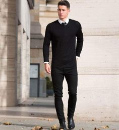 5f107989682 The Most Cool Casual Winter Fashion Outfits For Men 21