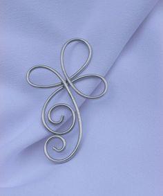 Celtic Cross Ornament, Christmas Ornaments, Cross Ornaments, Silver