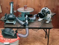 Benchtop dust collection system