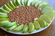 Decadent Caramel Apple Dip ~ Cream Cheese, Caramel & Toffee Chips