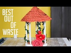 Love decorating your room with minature then what are you waiting for try this. its really beautiful and super easy to make it. Paper Room Decor, Wall Decor Crafts, Boys Room Decor, Diy Crafts For Girls, Diy And Crafts, Paper Cactus, Tutorial Diy, Decoration For Ganpati, Diy Organisation