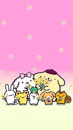 Sanrio Wallpaper, Kawaii Wallpaper, Sanrio Danshi, Wallpaper Backgrounds, Phone Wallpapers, Sanrio Characters, My Melody, Kawaii Cute, Artist Names