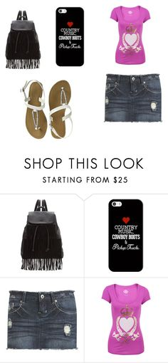 """""""Rebel Love Song"""" by mrs-sanders ❤ liked on Polyvore featuring Glamorous, Casetify, Wet Seal and Juicy Couture"""