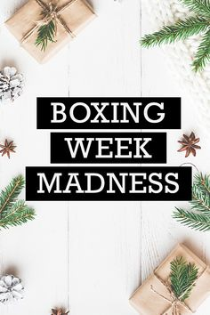 There are so many reasons why we love to shop Boxing Week online! There are so many sweet deals, it's MADNESS! Find the best Boxing Week deals, promo codes and coupons at Ebates.ca! #EbatesCABoxingDay