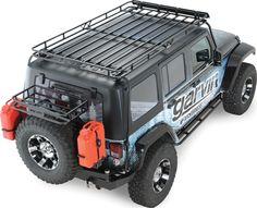 Garvin Industries Wilderness Expedition Rack for 07-16 Jeep® Wrangler Unlimited JK 4 Door | Quadratec