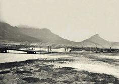 Cape town history - Salt River Mouth, near today's Paarden Eiland Old Pictures, Old Photos, Vintage Photos, Places To Travel, Places To Go, River Mouth, Cape Town South Africa, African History, Woodstock