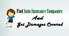 Find #AutoInsurance Companies And Get Damages Covered  #Auto #Insurance #USA