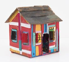Beverly Buchanan at Brooklyn Museum (Contemporary Art Daily) African American Artist, American Artists, Vernacular Architecture, Art And Architecture, New York Exhibitions, 3d Art Projects, Contemporary Art Daily, Cardboard Art, Wood