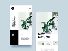 Inspiration UI/UX pour vos designs web et mobiles 7 Ui Ux Design, Interface Design, Brochure Design, Graphic Design, Design Spartan, Learn Web Design, Identity, Branding, Book Design Layout