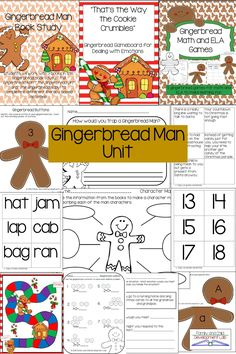 These 3 Gingerbread Man products combine to make one perfect bundle.  Compare and contrast different gingerbread stories, learn how to deal with problems, and practice math and literacy skills in these fun seasonal and fairy tale products.