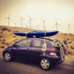 #travel #travelamerica #traveldiaries #carcamp #toyota #yaris #lilahum #liquidlogic #lovelife #paddle #kayak #roadtripusa #road #bike #turbines #wind #power #california #29palms #discoveramerica #boat #desert #enjoythejourney #gypsy #instatravel #movingintofreedom #nomad #nomadnotes #offgrid #ontheroad