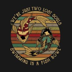 Check out this awesome 'We_re Just Two Lost Souls Swimming In A Fish Bowl' design on Rock Posters, Band Posters, Concert Posters, Imagenes Pink Floyd, Pink Floyd Art, Pink Floyd Poster, Arte Van Gogh, Bedroom Wall Collage, Pochette Album