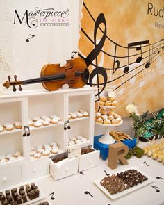 Music Themed Sweet Table