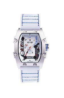 El modelo 113 Mnstr de ENE Watch, Línea inspirada en la deportividad urbana propia de ENE Watch, con lineas inspiradas en el motociclismo y un estilo actual que descubrirá a su portador la sensación de El Nuevo Tiempo en su muñeca. Con maquinaria Miyota.