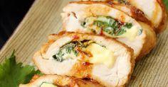 食欲そそる大葉とにんにくの香り♡お肉の間にチーズを入れることで固さのあるお肉でも食べやすい♡