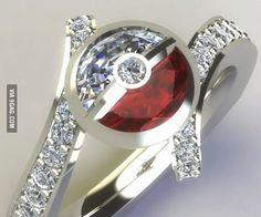 I choose you!--- This soooo needs to be my wedding ring!!!