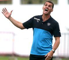 BotafogoDePrimeira: Rodeado de pressão, Mancini tenta ser psicólogo do...