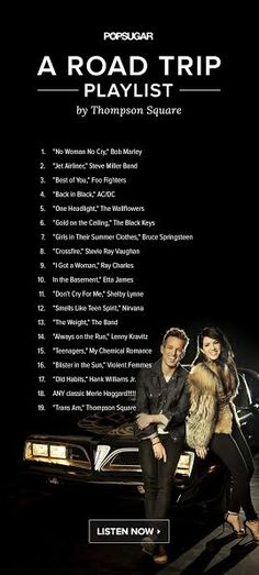 Thompson Square Created Your Perfect Road Trip Playlist