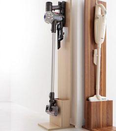 掃除機をカッコよく飾る!クリーナースタンド   理想の部屋をつくる 家具・雑貨ショップ ワンルーム [ONEROOM]
