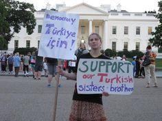 WASHİNGTON. World is with us! what about you? #direngezi #occupygezi #direntürkiye