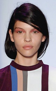 BCBG Max Azria from New York Fashion Week Beauty Looks: Fall 2014 Hair & Makeup | E! Online
