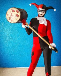 Harley Quinn Costume - Harley Quinn Halloween Makeup Tutorials