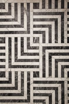 Gorgeous marble floor pattern | Kelly Wearstler