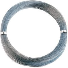 Momoi's Hi-Catch Nylon Leader Coils - 100-Yard - Smoke Blue - 400 lb.