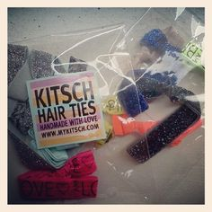 kitsch hair ties - win your very own pair!