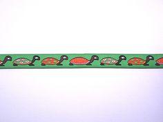 Lint groen, schildpad 15 mm || https://kimya.nl/webshop/lint-groen-schildpad-15-mm-x-1-meter-p-9674.html