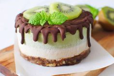I originally posted this cute little raw matcha cheesecake last year, but I have since re-created it a couple of times and I think this version with mint and lemon is so much better than the original one with kiwi that I just had to update the recipe and share this new version with you guys! I h....