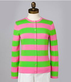 They might see you coming... Lilly Pulitzer Lee Striped Cardigan