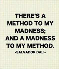 ...Read at Salvador Dali Museum in London next to The Eye.  I am sane!