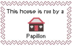 44258f4c6798f Items similar to Papillon, butterfly, counted cross stitch, cross stitch  pattern, cute cross stitch, dog cross stitch, cross stitch pdf, cross stitch,  ...