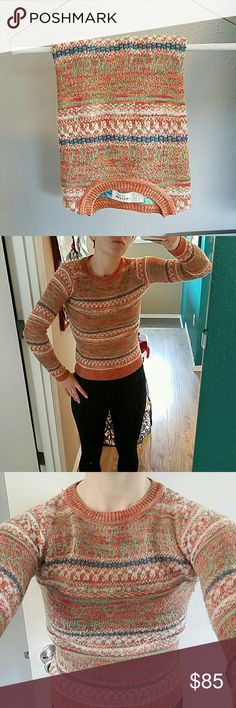 Anthropologie sweater Great condition, only worn a couple times, good for Fall, Winter or even Spring Anthropologie Sweaters Crew & Scoop Necks