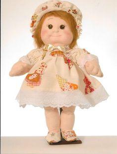 Schemi/cartamodelli Bambola di stoffa scolpita ad ago: Linda