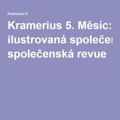 Kramerius 5. Měsíc: ilustrovaná společenská revue