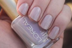L'Oreal Nail Color in Never Lacque-ing ♥ Review & Swatches