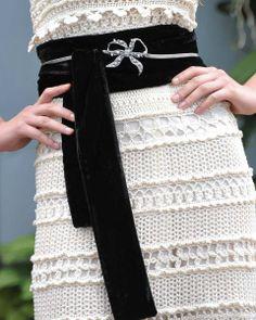 Crochetemoda: Vanessa Montoro - Vestido Branco