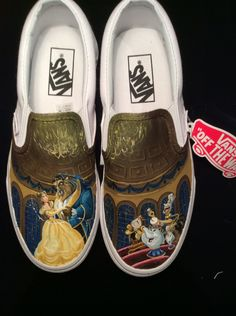 63f05badf41 Beautiful Beauty and the Beast Vans  vans disney toms Sweet Fifteen