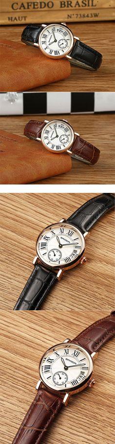 SANDA P206 Kvinner Quartz Watch Watch 2, Quartz Watch, Women Jewelry, Shoulder Bag, Lady, Shoulder Bags